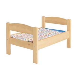 IKEA洋娃娃床附寢具組