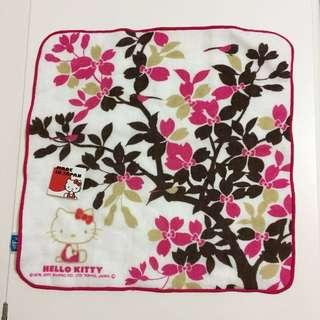 日本Hello Kitty手巾仔/手帕