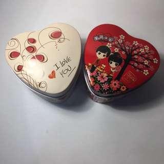 愛心盒子2個