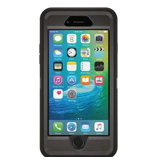 Black Otterbox Defender Case for Iphone 6/6s