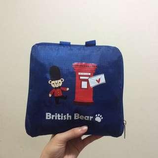 英國熊收納旅行包