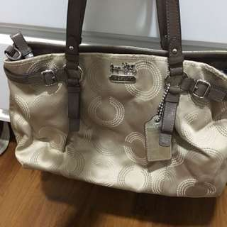 Authentic pre-loved Coach bag