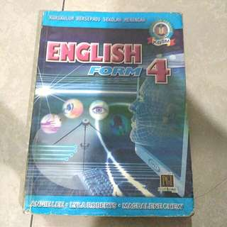 English textbook Form 4