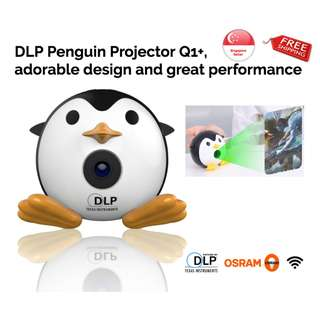 DLP Penguin Projector Q1+, latest WIFI version