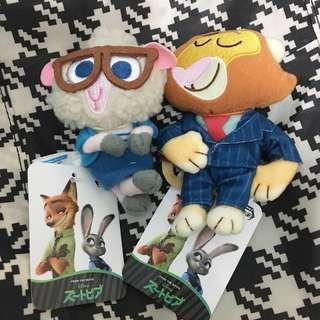 日本 zootopia 優獸大都會 公仔 綿羊 獅子 市長 doll puppet 飾物