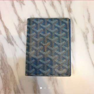Goyard passport wallet