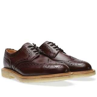 【Sanders】英國製百年品牌手工雕花皮鞋/原價249英鎊 代工Mark McNairy Thom Browne