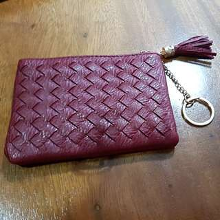 Brand new leather card holder/ coin/ wallet