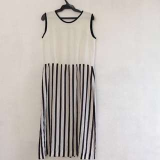 Repriced! Striped Office/Casual Dress