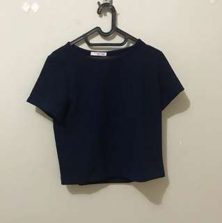 Mango semi crop top size M