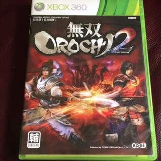 🚚 XBOX360 無雙蛇魔2/OROCHI 2日文版