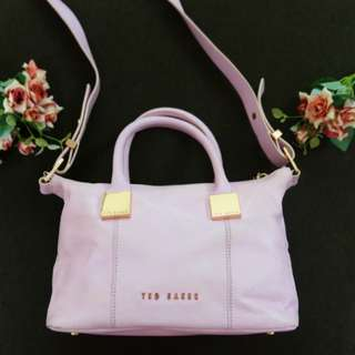 (Reduced) TED BAKER genuine leather bag (with tag)