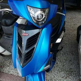 2015 PGO 彪虎 150 ABS 水冷 魚眼版 消光藍