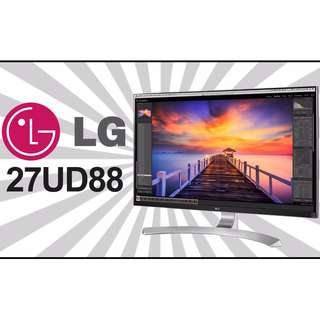"LG 27UD88-W 27"" 3840x2160 5ms 4K AMD FreeSync IPS LED Gaming Monitor w/ USB Type-C"