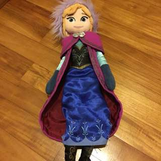 Authentic Disney Frozen Princess Anna plush doll