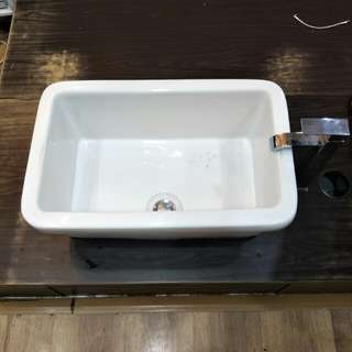 Basin with Mixer Tap