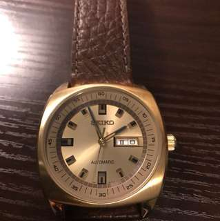 Seiko 復克vintage Watch 精工手錶(not Rolex Omega Longines Swatch)