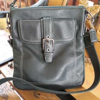 COACH SLING BAG ( green)