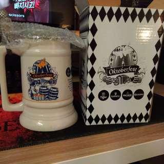 Limited Edition Oktoberfest 2014 Ceramic Mug with Tin Lid