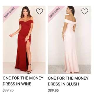 Looking for off shoulder maxi dress