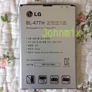 $190@2 100% new Original LG G PRO 2 BL-47TH BATTERY 3200mAh (unopened)