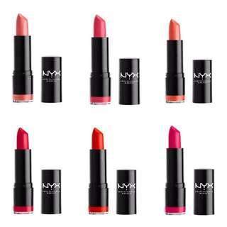 ✨Instock✨Brand New NYX Lipstick 💄