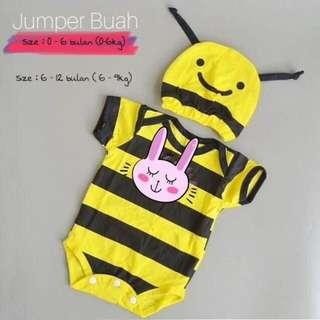 Jumper Lebah / jumpsuit baby