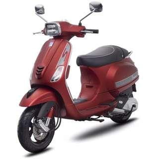 VESPA-S-全新-125cc-來店賞車送好禮