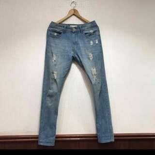 (含運)破壞牛仔褲