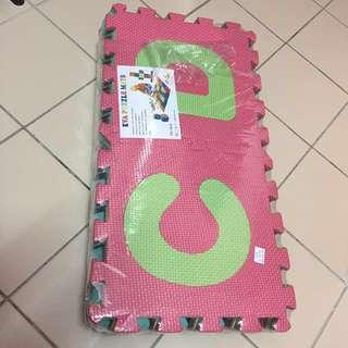 Eva puzzle mats ABC🆕🎀