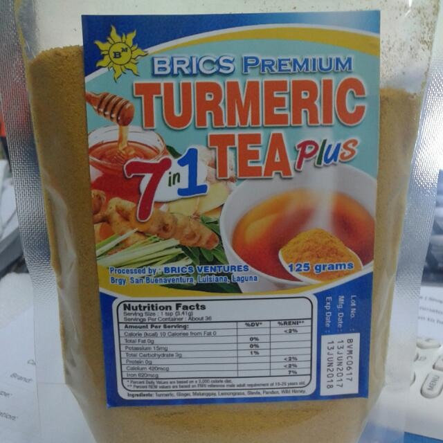 7 In 1 TURMERIC TEA PLUS