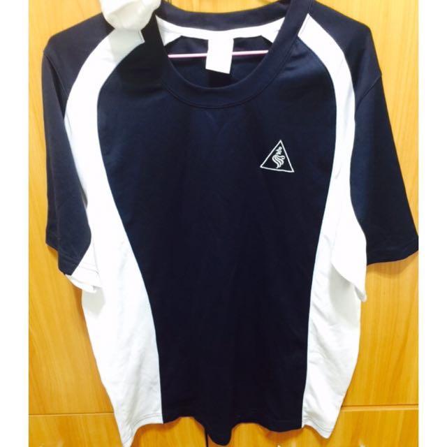 9成新 T恤 藍 #幫你省運費