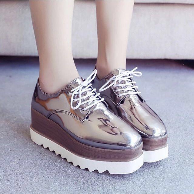 韓國鬆糕鞋