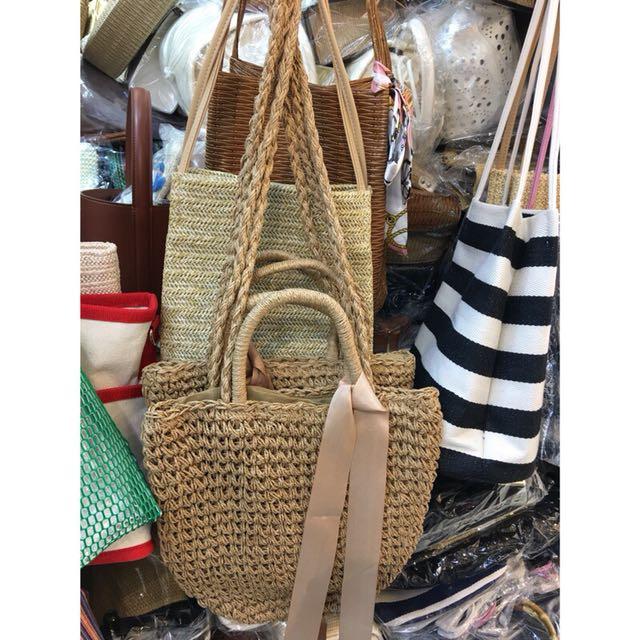 韓國🇰🇷編織草包