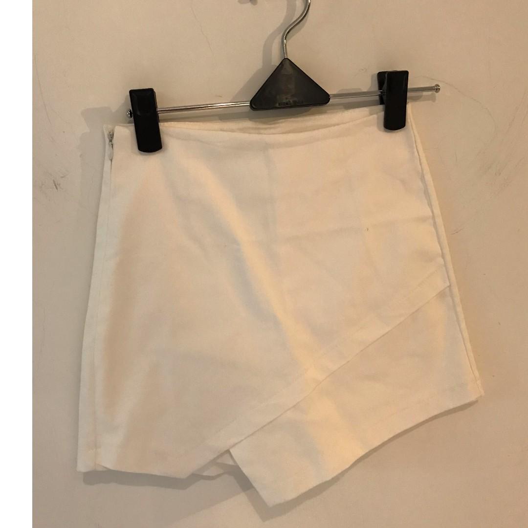 不規則短褲裙