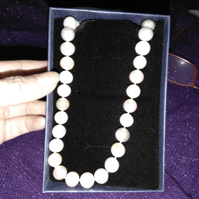 七彩珍珠項錬