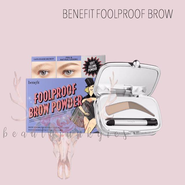🦄 BENEFIT FOOLPROOF BROW 🦄