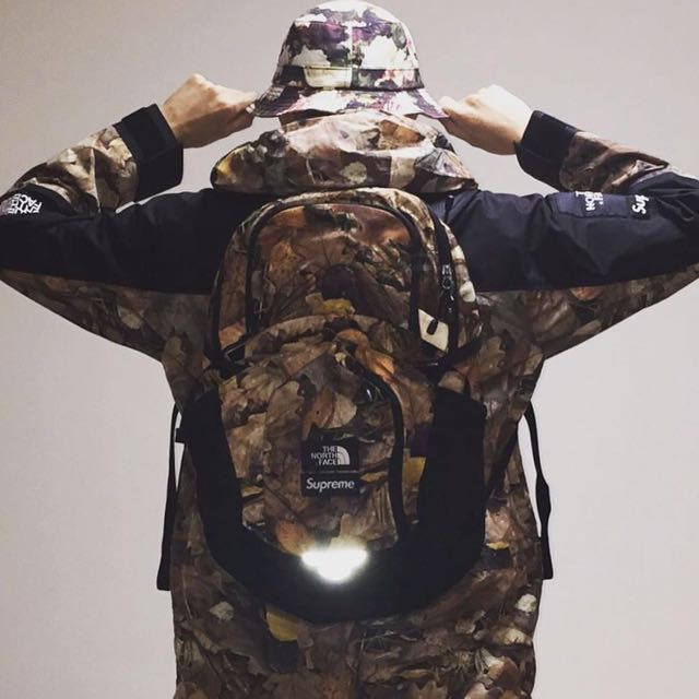 b8f4ebed5 🔴 Supreme The North Face Pocono Leaves Backpack ( HK AAA )