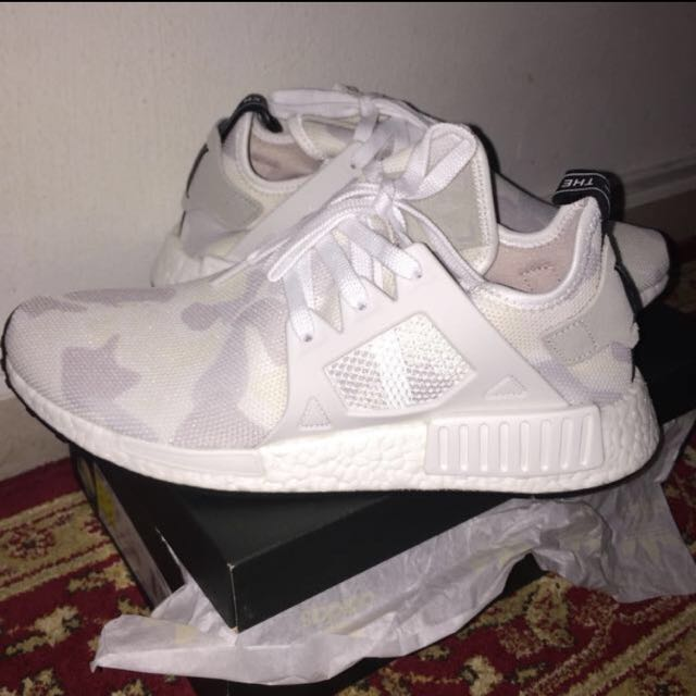 huge selection of edce7 655a3 Adidas NMD xr1 duck camo white