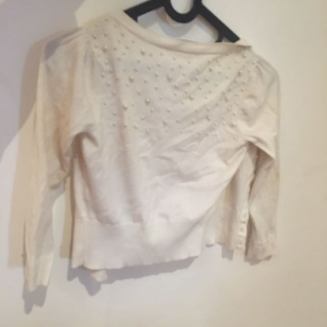 Alannah Hill Size 6 Cotton Cardigan