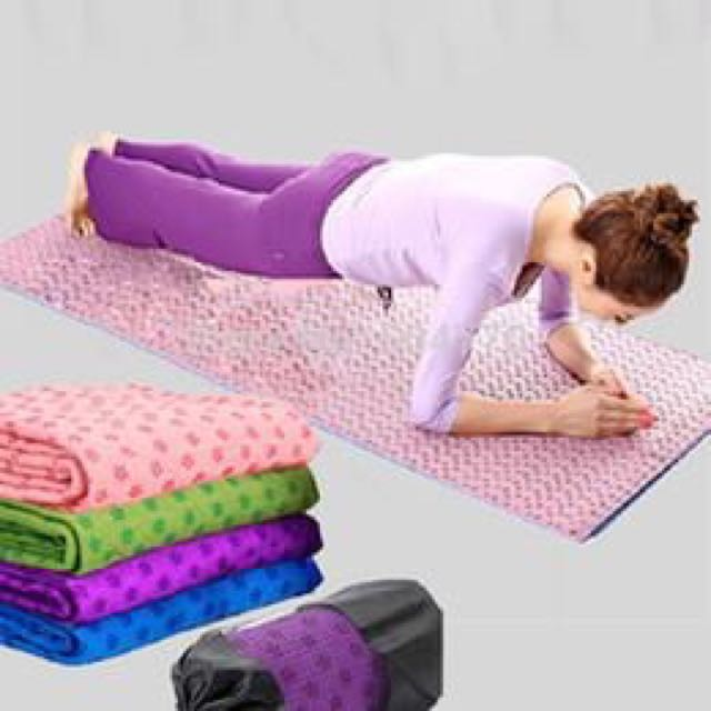 ANTI-SLIP YOGA MAT TOWEL