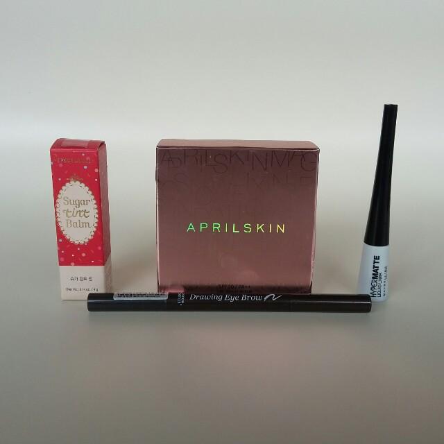 April skin snow fixing foundation paket