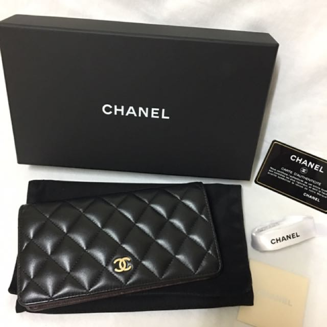 Authentic Chanel Wallet (GHW)