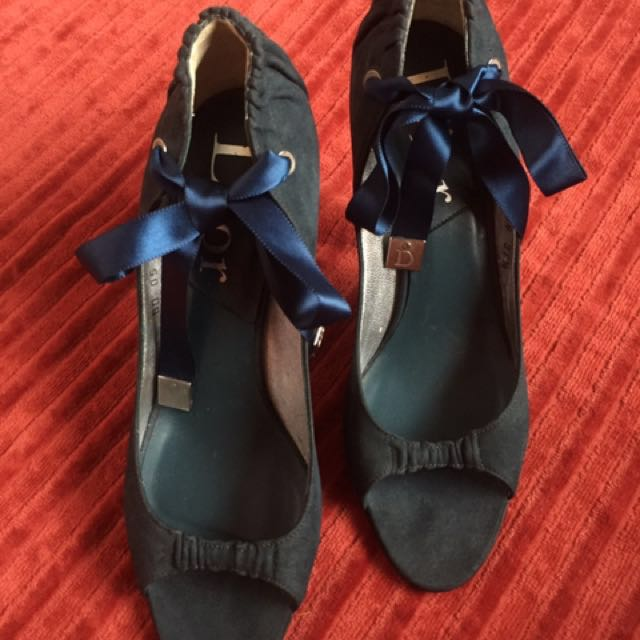 Authentic Dior Open Toe Shoes