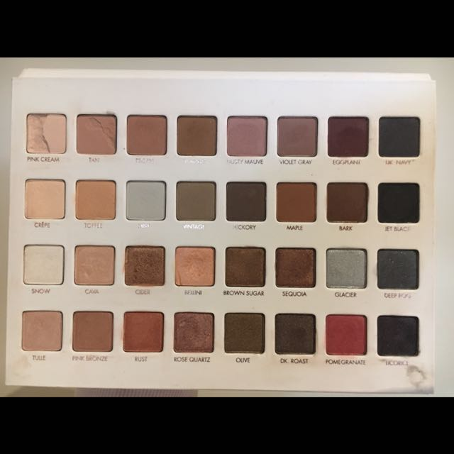 Authentic Lorac Mega Pro 3 Eyeshadow Palette