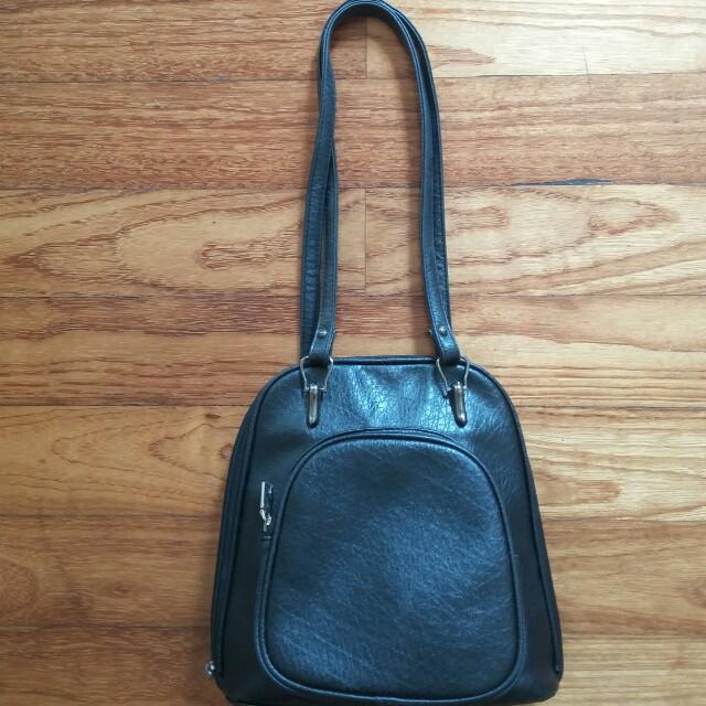 (REPRICE) Backpack and shoulder bag mangoesteen