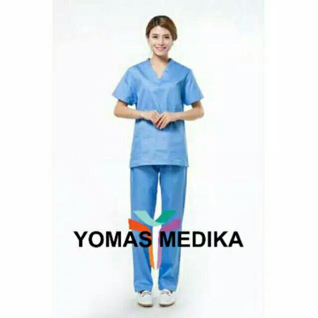 Baju OK/ Seragam Dokter/ Baju Jaga Malam