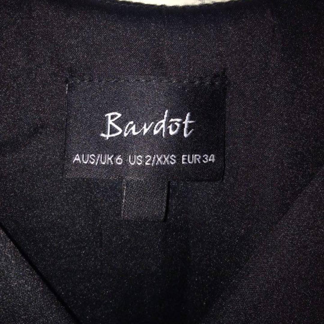 BARDOT BLACK BODYSUIT