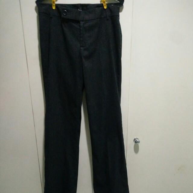 Basic Dark Gray Work Pants