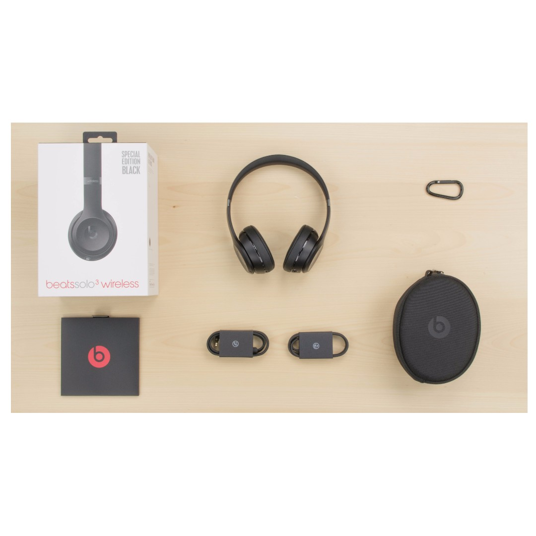 Beats Solo 3 Wireless On-Ear Headphones (Black) Special Edition ... a4d251303e15